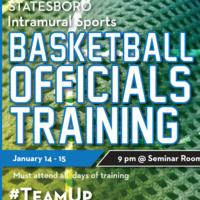 Basketball Officials Training I