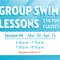 Group Swim Lessons Session 4 Registration