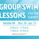 Group Swim Lessons Session 4 Registration