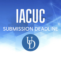 IACUC DEADLINE:  IACUC Protocols Due for Jan.