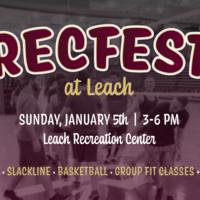Rec Fest at Leach