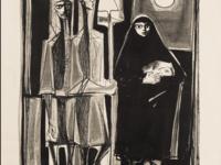 Mahmud Sabri, Peasant Family, 1958  Mathaf: Arab Museum of Modern Art, Doha, Qatar