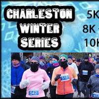 Charleston Winter Series 5K run/3K walk