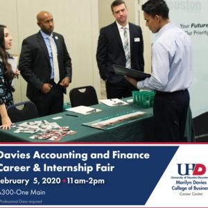 Davies Accounting and Finance Career & Internship Fair