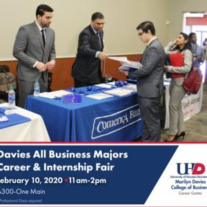 Davies All Business Majors Career & Internship Fair