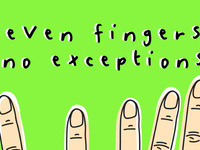 Group Show: Seven Fingers, No Exceptions!