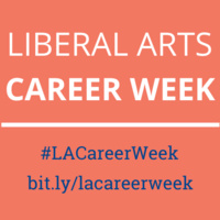 Liberal Arts Career Week: Marketing Your Liberal Arts Degree