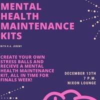 Mental Health Maintenance Kits