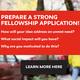 Prepare a Strong Impact Entrepreneurship Graduate Fellowship Application