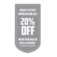 Faculty & Staff Appreciation Sale at UGA Bookstore