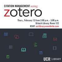 Citation Management Using Zotero