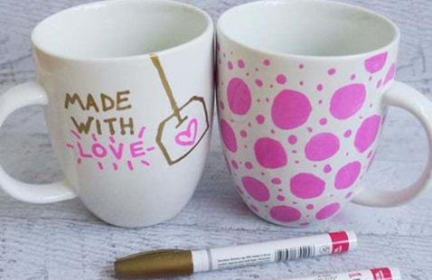 Team Green Study Break: Reusable Mug Decoration