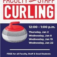 Faculty and Staff Curling workshop