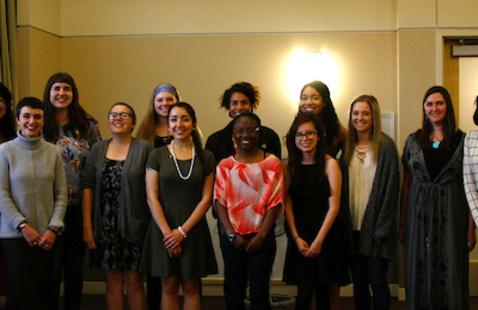 Members of Sigma Tau Delta