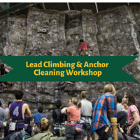 Lead Climbing & Anchor Cleaning Workshop