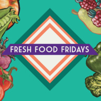 Fresh Food Friday is a weekly program that provides a fresh, healthy snack!