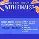Finals Giveaway Booth graphic