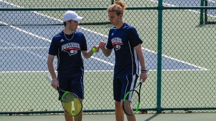 USI Men's Tennis at Purdue Northwest at Hammond, IN