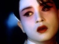 Film still of opera singer in 'Farewell My Concubine""