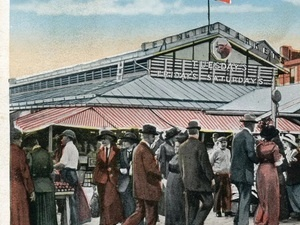 Catacombs, 100-Year Vendors and History at Lexington Market