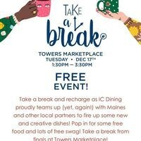 Take a Break at Towers Marketplace