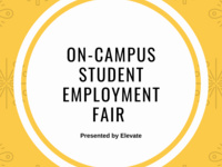 On-Campus Student Employment Fair presented by Elevate