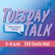 TUESDAY TALK - Guy Talk