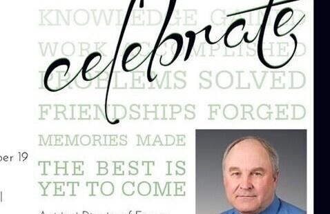 Retirement Celebration for Greg Weber