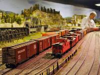 Long Island Garden Railway Society Holiday Display