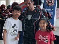Avengers Endgame Screening with NY Avengers Cosplayers