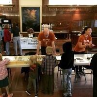 UT Austin Entomology tables at Texas Wildlife Day
