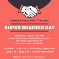 Third Thursday Super Sharing Day