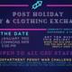 GSU Post-Holiday Staff Toy & Clothing Exchange