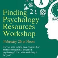 Finding Psychology Resources