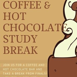 Coffee and Hot Chocolate Bar Study Break
