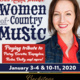 Backstage at the Grand: Erica Hansen presents Women of Country Music