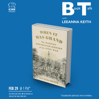 """Book Talk with LeeAnna Keith: """"When It was Grand"""""""