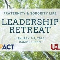 Fraternity & Sorority Life Leadership Retreat