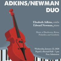 Faculty Recital Series: Elisabeth Adkins and Edward Newman