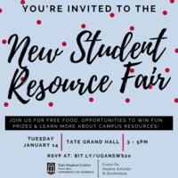 New Student Resource Fair