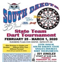 35th Annual South Dakota State Dart Tournament