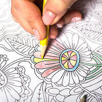 Just Add Color: Adult Coloring Drop-In