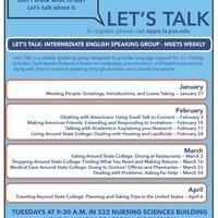 Let's Talk: Weekly Speaking Group