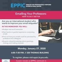 Emailing Your Professors: How to Do It Better
