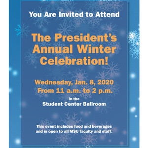 President's Annual Winter Celebration