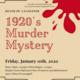 1920's Murder Mystery