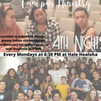 4th Nights (Campus Ministry Faith Sharing)