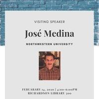 Visiting Speaker: José Medina