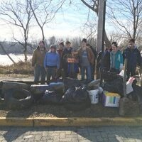 Bristol Marsh Cleanup with Heritage Conservancy