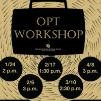Optional Practical Training (OPT) workshop